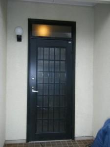 高級玄関ドアリフォーム